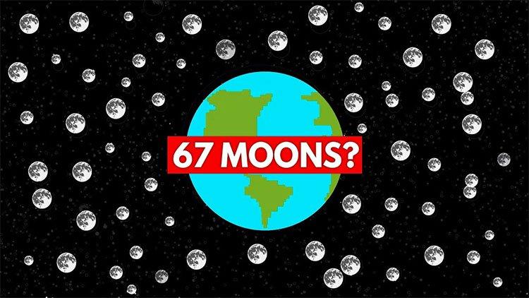 Thảm họa khủng khiếp gì sẽ xảy ra nếu Trái Đất có 67 mặt trăng?