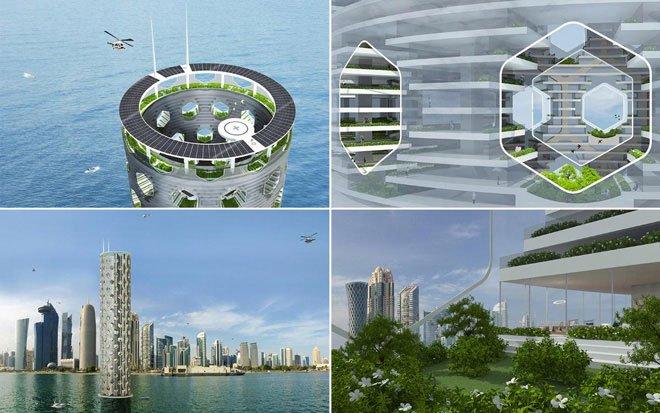 Thành phố của tương lai: Nổi, sạch và thẳng đứng