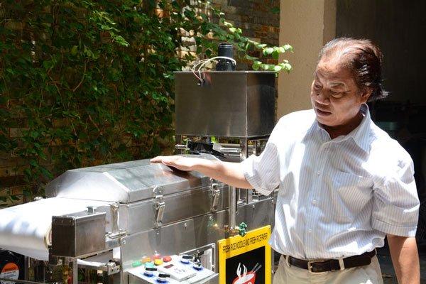 Thầy giáo chế tạo máy làm bún phở thần diệu, xuất khẩu ra nước ngoài