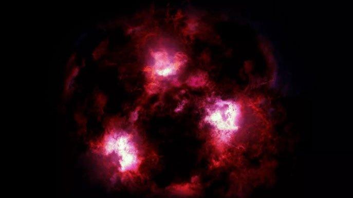 Thiên hà khổng lồ cách Trái đất 12,5 tỷ năm ánh sáng