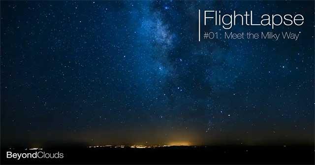Thiên hà Milky Way tuyệt đẹp, huyền ảo dưới góc nhìn buồng lái máy bay