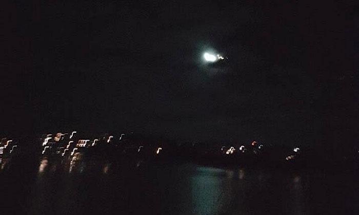 Thiên thạch sáng rực bay qua bầu trời Sydney