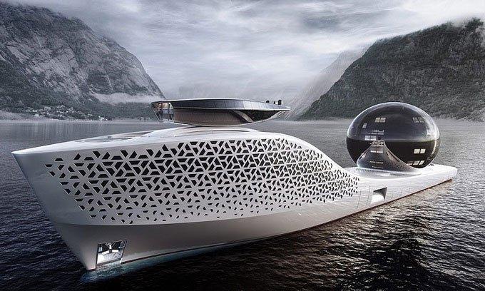 Thiết kế tàu nghiên cứu hạt nhân lớn hơn tàu Titanic