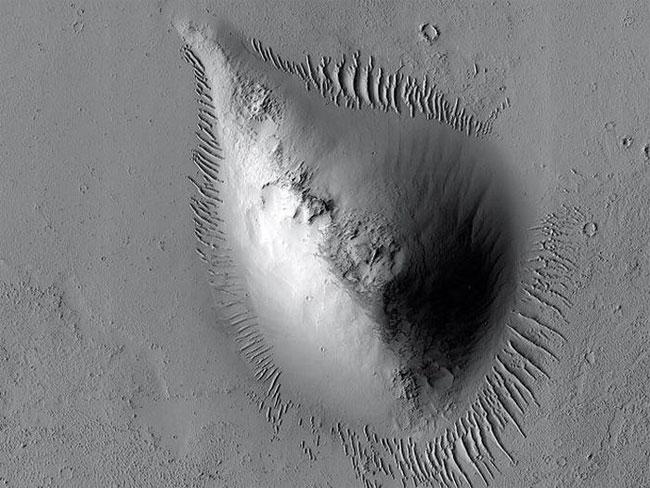 Thứ hình quả lê này là dấu hiệu của sự sống trên sao Hỏa