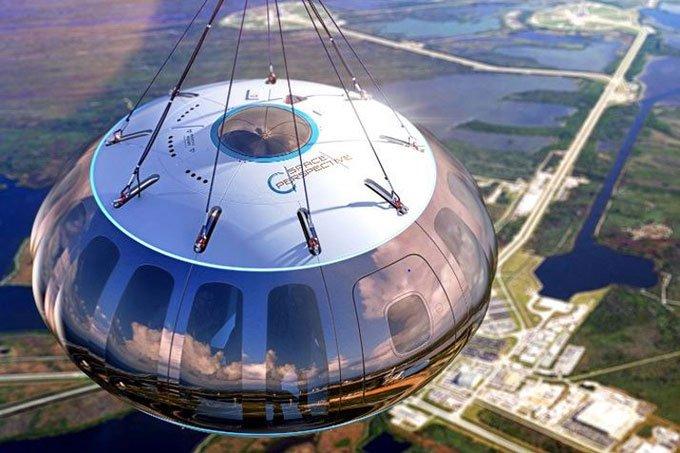 Thử nghiệm phóng khinh khí cầu lên cao 32.000m