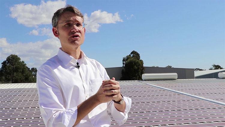 Thử nghiệm pin mặt trời có thể in bằng mực thông thường