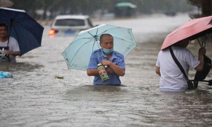 Thủ phạm gây mưa lũ nghìn năm có một ở Trung Quốc
