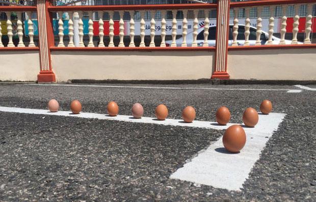 Thực hư hiện tượng quả trứng dựng đứng đầy vi diệu trong ngày diễn ra nhật thực