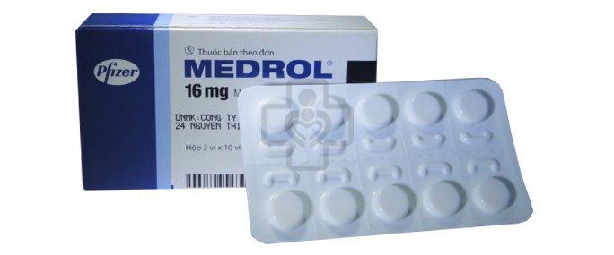 Thuốc medrol chữa bệnh đau xương khớp có hiệu quả không?