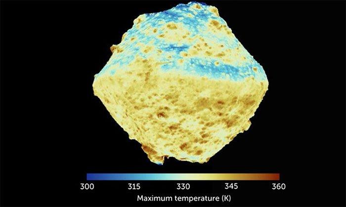Tiểu hành tinh gần Trái Đất có cấu trúc xốp