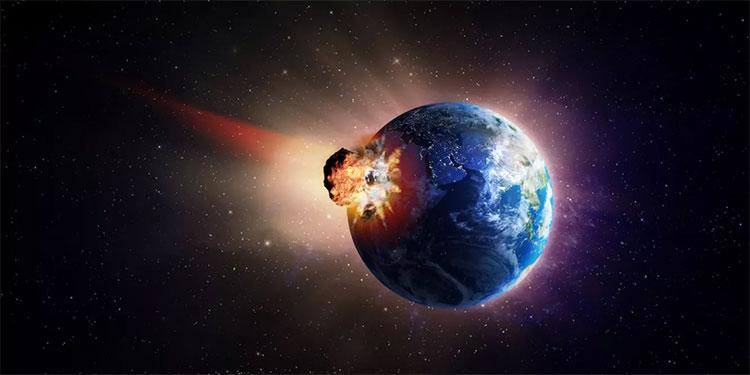 Tiểu hành tinh khủng long tạo siêu sóng thần cao 1,5km