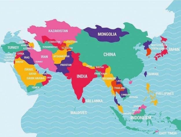 Tìm hiểu về châu Á