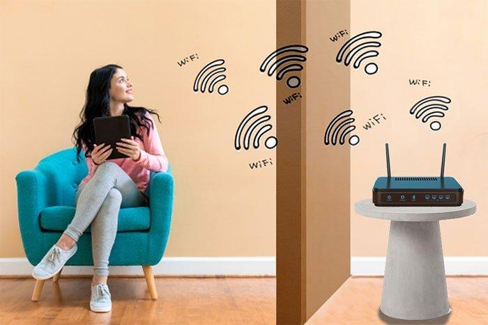 Tín hiệu WiFi đi xuyên tường bằng cách nào?
