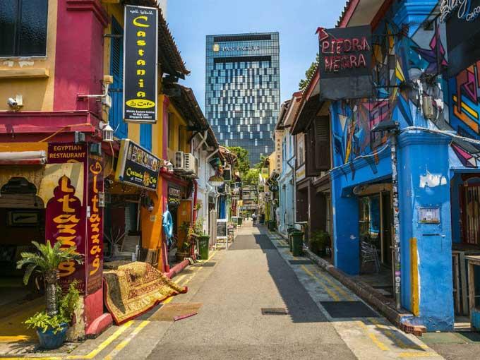 Top 10 con phố thú vị nhất thế giới 2021