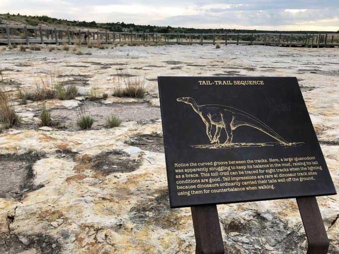 Top 5 vùng đất cho khách đi bộ cùng khủng long