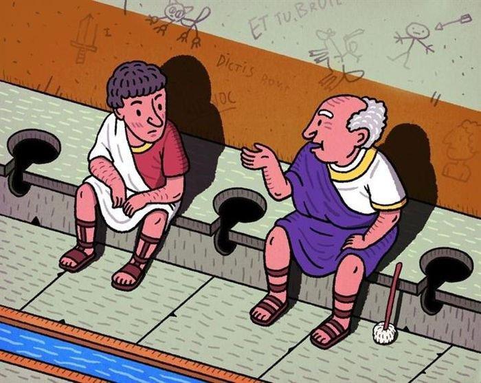Top 7 sự thật gây rùng mình về nhà vệ sinh thời xưa
