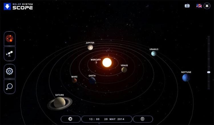 TOP ứng dụng khám phá vũ trụ, hệ mặt trời trên PC