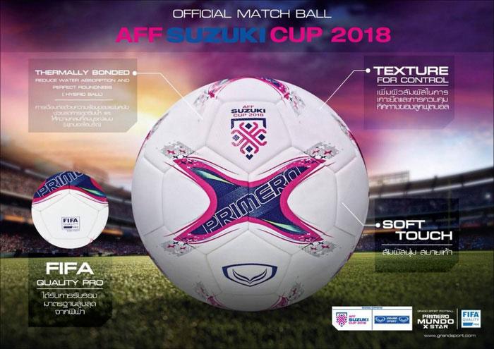 Trái bóng chính thức tại AFF Cup 2018 đã được FIFA thử nghiệm như thế nào?