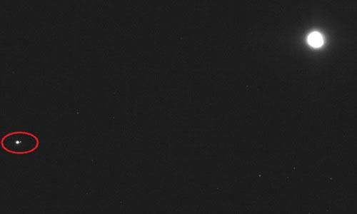 Trái Đất chụp từ khoảng cách 110 triệu km ngoài vũ trụ