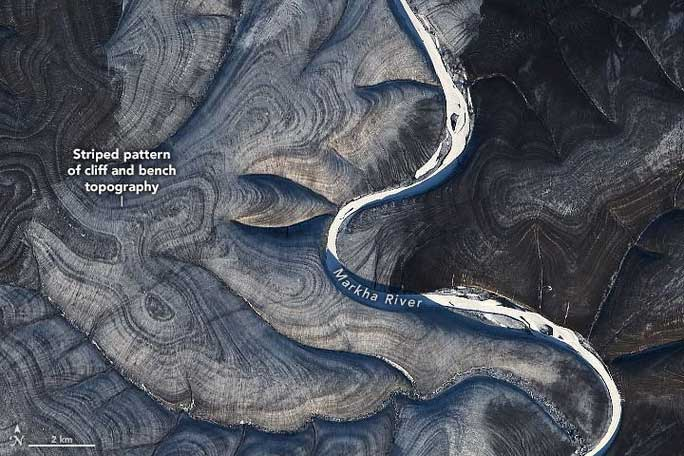 Trái đất xếp nếp kỳ lạ ở Bắc Cực khiến các nhà khoa học bối rối