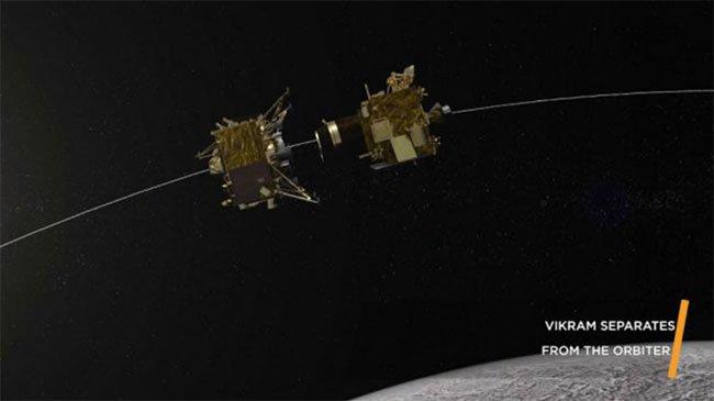 Trạm đổ bộ Ấn Độ chuẩn bị đáp xuống Mặt trăng