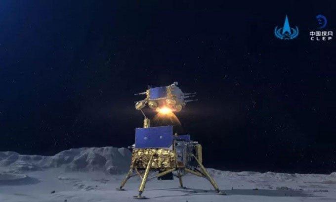 Trạm đổ bộ Trung Quốc chết cóngtrên Mặt trăng