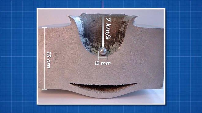 Trạm Vũ trụ Quốc tế hư hại do va chạm với mảnh vỡ chỉ 1mm