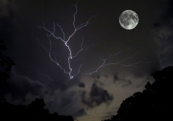 Trăng sói, trăng tuyết, trăng hồng… là trăng gì?