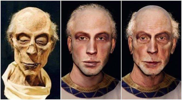 Trí tuệ nhân tạo giúp phục dựng thành công khuôn mặt của pharaoh Ai Cập từ xác ướp
