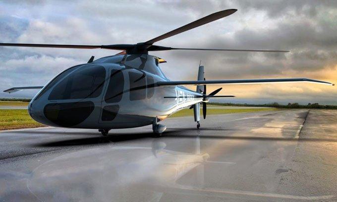 Trực thăng hydro chở người đầu tiên trên thế giới