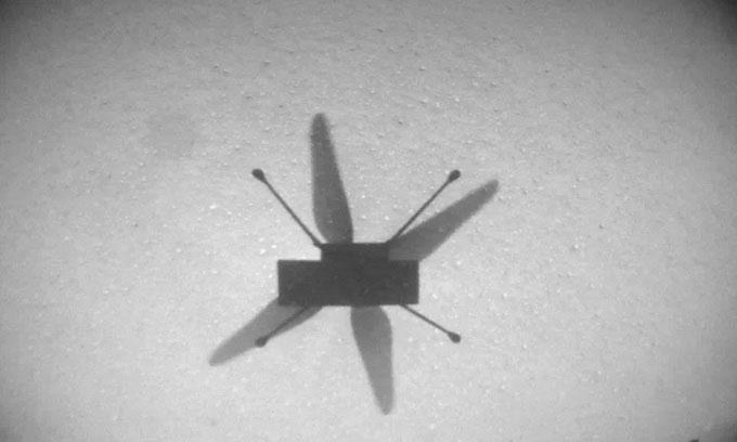 Trực thăng NASA cất cánh lần thứ 7 trên sao Hỏa