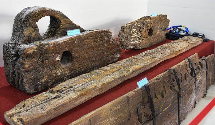 Trưng bày kho cổ vật trong 9 con tàu đắm