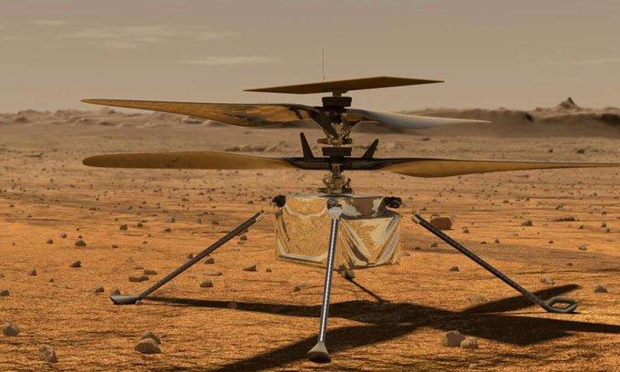 Trung Quốc phát triển trực thăng sao Hỏa giống NASA