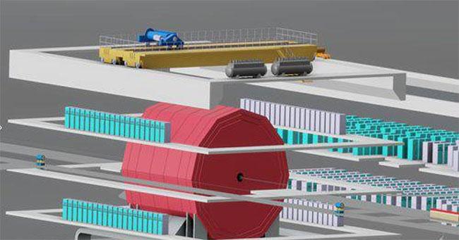 Trung Quốc xây máy gia tốc hạt lớn nhất thế giới