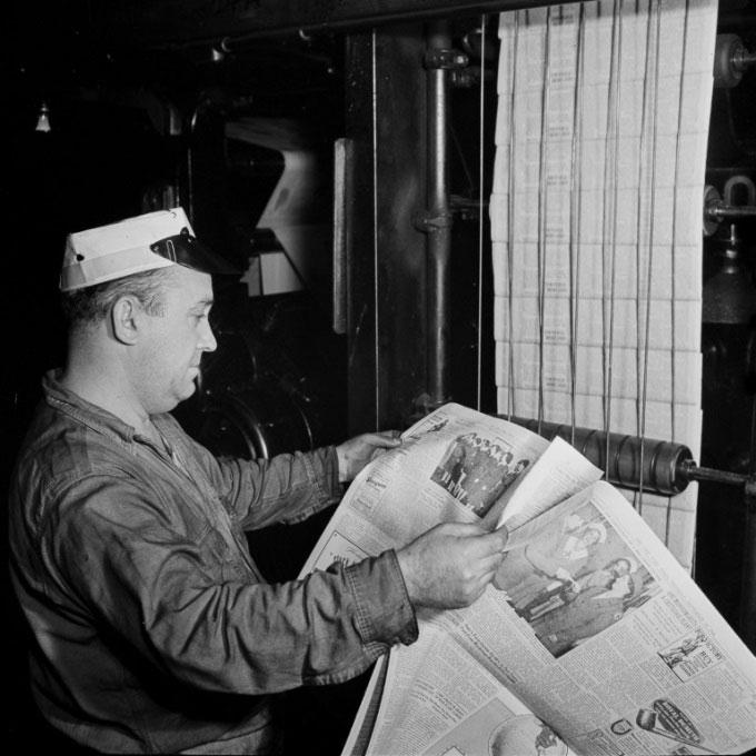 Trước khi có Internet, The New York Times làm báo thủ công như thế nào?