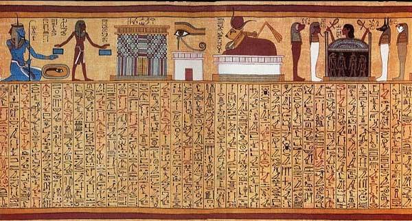 Tử thư - bí ẩn những cuốn sách chôn trong lăng mộ người Ai Cập