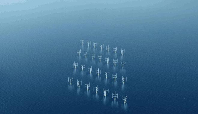 Tuabin gió dạng trục đứng giúp tăng hiệu năng sản xuất điện gió lên tới 15%
