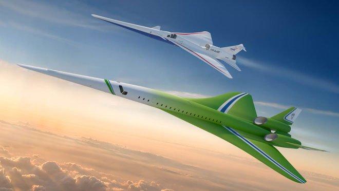 Tương lại, bạn có thể bay xuyên quốc gia nhờ máy bay siêu thanh của Lockheed Martin