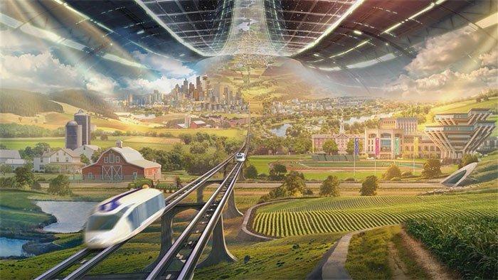 Tương lai của nhân loại: Sống trên sao Hỏa và những tòa nhà chọc trời ở nông thôn