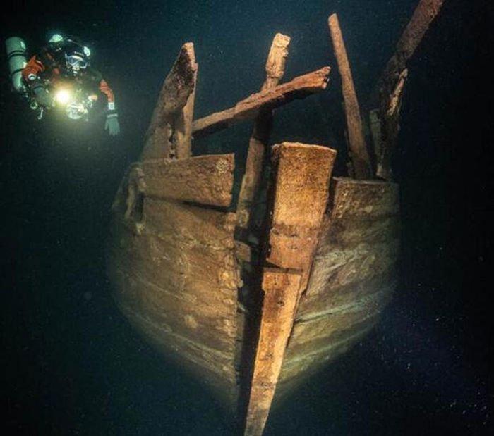 UFO biển Baltic: Tàu ma hiện hình nguyên vẹn sau 4 thế kỷ