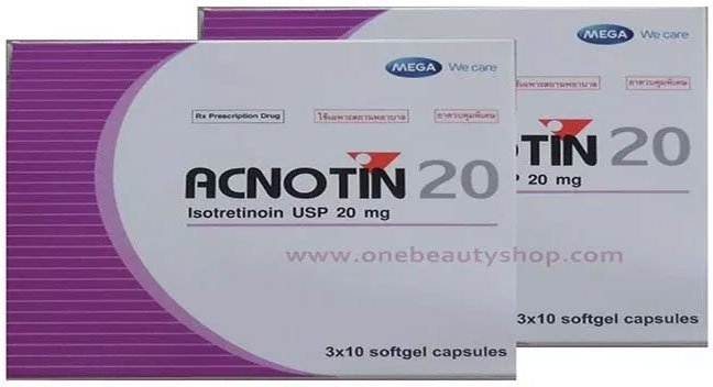 Uống acnotin bao lâu thì hết mụn? Acnotin có những loại nào?