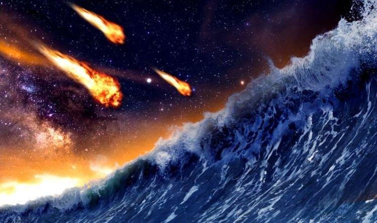 Va chạm với tiểu hành tinh, cơn sóng thần cao hơn 300m đã nhấn chìm sao Hỏa