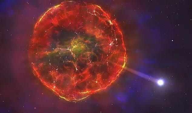 Vật thể lạ chết một nửa lao nhanh giữa thiên hà chứa Trái đất