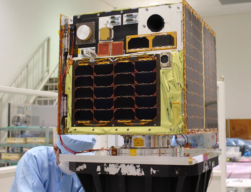 Vệ tinh Micro - Dragon người Việt thiết kế sẵn sàng vào quỹ đạo