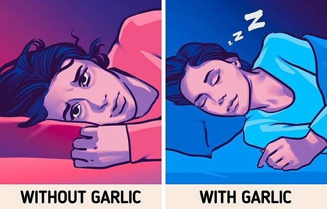 Vì sao bạn nên đặt một nhánh tỏi dưới gối khi ngủ?