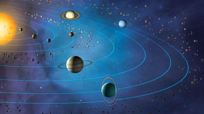 Vì sao các hành tinh trong Hệ Mặt trời quay trên cùng một mặt phẳng?