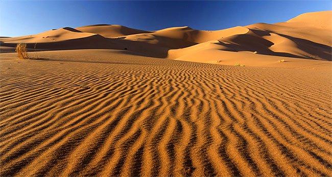 Vì sao cát biển và sa mạc không thể dùng để xây dựng?