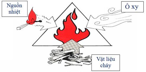 Vì sao khi cháy, ngọn lửa cháy luôn bốc lên cao?