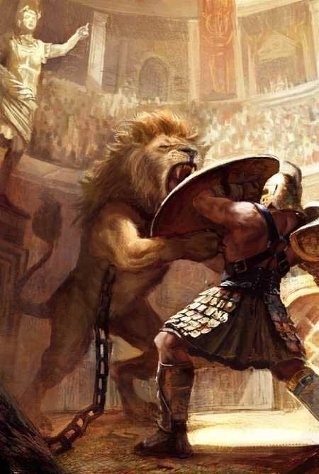 Vì sao người La Mã cổ đại phát cuồng các trận đấu với sư tử?