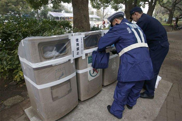 Vì sao Nhật Bản ít thùng rác?